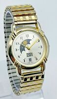 Unisex FADED GLORY Silver/Gold Tone Moonphase Watch, Date, Quartz FG1039WR