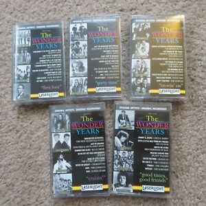 Rare Wonder Years 5 Cassette Box Set