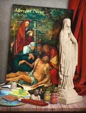 Guinea-Bissau 2016 MNH Albrecht Durer 1v S/S Lamentation Christ Paintings Stamps