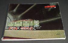 Marklin 1986-87 HO-Gauge Train Catalog, in English