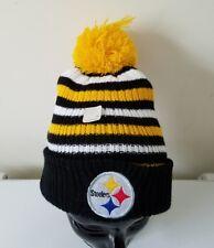 Pittsburgh Steelers Miller Lite Beer Winter Pom Knit Ski Toque Tuque NFL Cap Hat