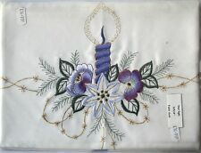 Embroidered Square Unbranded Tablecloths