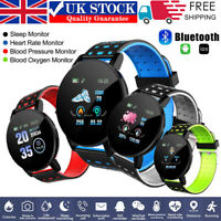 Waterproof Smart Watch Heart Rate Tracker Fitness Wristband for IOSPhone Android