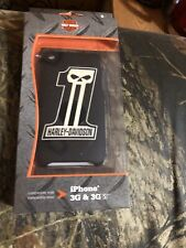 HARLEY DAVIDSON IPHONE 3G & 3GS SKULL CELL PHONE CASE NEW IN BOX