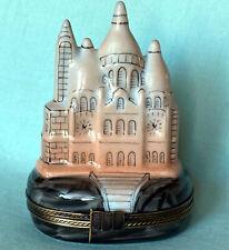Paris Sacré-Cœur Basilica Authentic Limoges Trinket Box