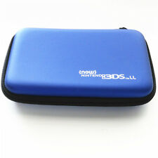 Blue Hard Case Protective Carry Bag Pouch For Nintendo New 3DS XL / New 3DS LL