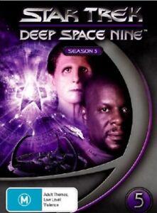 Star Trek Deep Space Nine : Season 5 (DVD, 2007, 7-Disc Set) BRAND NEW!