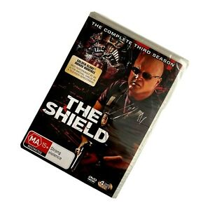 THE SHIELD The Complete Third Season DVD set 4 disc R4 PAL TV drama new sealed