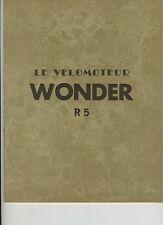 (51) Le vélomoteur WONDER R5