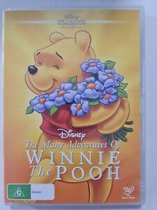 The Many Adventures Of Winnie The Pooh - Disney (DVD) Australia Region 4