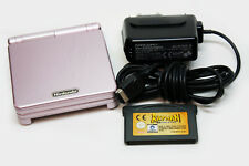 NINTENDO GAME BOY ADVANCE SP AGS-101 + CARGADOR + JUEGO RAYMAN