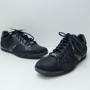 Hugo Boss Saturn Lowp MX Mens's Shoes 50407672- Blue- US 10.5- EURO 41