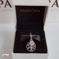 New Genuine Pandora Family Heritage Pendant Charm Without Box 791728CZ RRP£55