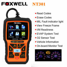 Foxwell NT301 OBD2 Scanner Code Reader Car Engine Fault Light Diagnostic Tool