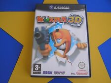 WORMS 3D - GAMECUBE - Wii Compatible