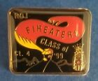 VINTAGE SHRINERS MASONIC GOLD ENAMELED FIREEATERS CLASS OF 1999 LAPEL PIN