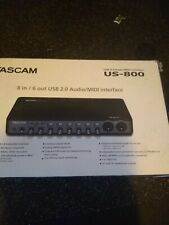 Tascam US-800 8-Channel USB Audio Interface US800 MIDI U150660