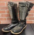 Hi-point Pro GP Boots  Alpinestars Motocross MX Size Unknown ITALY Vintage