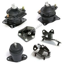 G062 Transmission Engine Motor Mount Kit 6PCS For 03-07 Accord 04-08 TSX 2.4L