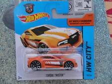 Hot Wheels 2014 #013/250 Torque Twister Orange Lot P ARGENTINE FOOTBALL