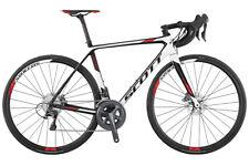 2017 Scott Addict 20 DISC Carbon Fiber Road Bike 56cm Retail $3800