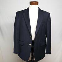 LAUREN RALPH LAUREN mens blazer, s 40 S, dark blue, 100% wool