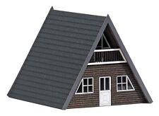 BUSCH 1437 Spur H0 Finnhütte Dunkles Holz #NEU in OVP#