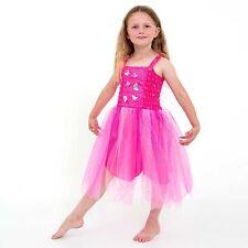 Girls' Fairy Tale Satin Fancy Dress