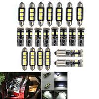 21XCanbus Voiture LED Licence Lumières 3/4/5SMD 5050 T10 BA9S Intérieur Ampoules