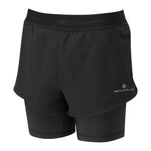 Ronhill Women's tech  twin shorts Running jogging walking outdoors RRP £ 40.00