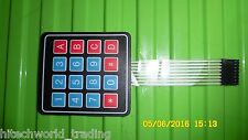 4x4 Keypad maxtrix 16 keys keyboard membrane keyboard $