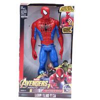 12'' Marvel Avengers Spider Man Super Hero Action Figures Toys Captain Kids Gift