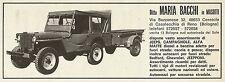 W5166 Campagnole - Jeeps - Ditta Maria Bacchi - Pubblicità 1969 - Advertising