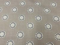 Sala Panama Cotton Stone Beige 140cm wide  Oslo Collection Curtain/Craft Fabric