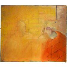 Original sin firmar sin enmarcar Cool Britannia surrealista retrato pintura Shelley
