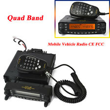 50W Quad Band HF VHF UHF Car Mobile Vehicle Amateur Ham Base Mobile Transceiver