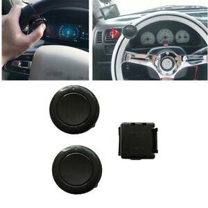 2pcs Car Steering Wheel Horn Button For Racing Car Steering Wheel Universal