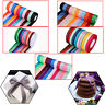 Satin Ribbon 300 Meter Rolls Double Sided 10mm 25mm 40mm Width for Arts/Crafts