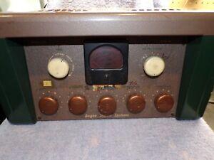Vintage Bogen Tube Amplifier Model LOL