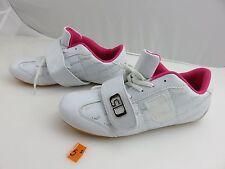 Estar De Moda White With Pink Exercise Athletic Walking Shoes US Women's Sz 7