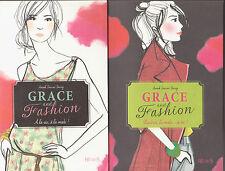 GRACE AND FASHION tomes 1 et 2 mode roman livre jeunesse français Journo-Durey