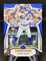 Edwin Rios Rookie (RC) 2020 Panini  SSP  #'d 07 /10!   🔥 SSP Dodgers