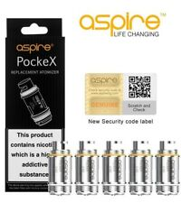Genuine ASPIRE POCKEX COILS Replacement 0.6 Ohm Coil Heads Pocket X AIO 5 Coils