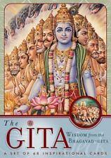 The Gita Deck : Wisdom from the Bhagavad Gita by Palace Press Staff and...