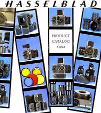 1994 HASSELBLAD CAMERA SYSTEM CATALOG BROCHURE -205TCC-503CX-553ELX-903SWC-500