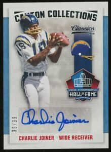 2016 Panini Classics #18 Charlie Joiner Chargers HOF AUTO 35/99
