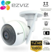 EZVIZ 1080p Outdoor WiFi Bullet Camera Weatherproof Smart Motion Detection C3WN