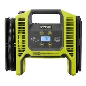 New Ryobi P747 - 18-Volt ONE+ Dual Function Inflator - Deflator (Tool Only)