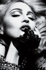 """Poster Madonna Cloth Poster 20x13"""" Print (15)Club star picture"""