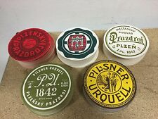 50x Pilsner Urquell Pilzen BierDeckel Beer NEU OVP 5 Designs